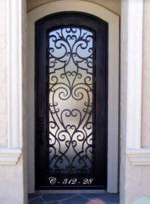 Single Door Designs & Single Door Designs - Custom Iron Doors - Doors by Design
