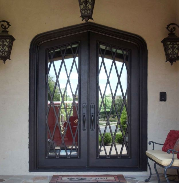 With Simulated Divided Light Doors You See The Mullions From Both The  Interior And Exterior Of The Door. Choose Raised Or Flat Iron Mullions For  Distinctly ...