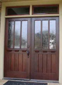 Craftsman 3 Lite door over flat panels