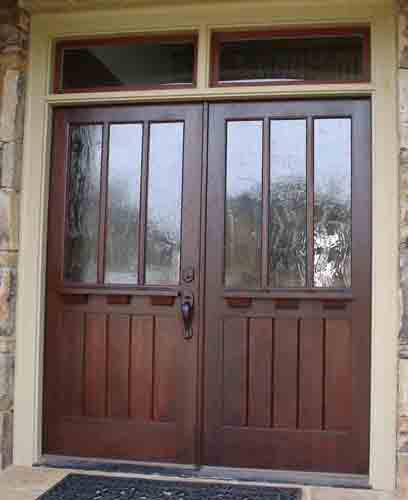 Craftsman 3 Lite door over flat panels
