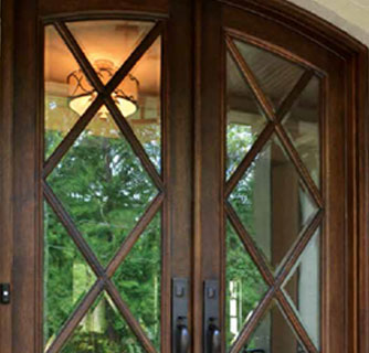 Custom Wood Wrought Iron Doors Doors By Design Daphne Al