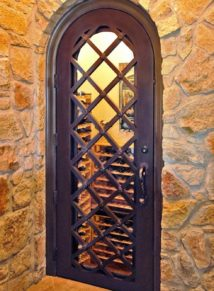 Wine Cellar Iron Door