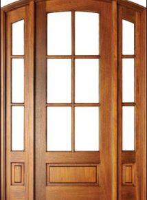 6LT Arch Top Door