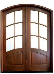 Aberdeen 6 Lite 80 Double Door