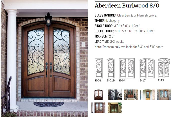 Aberdeen Burlwood 80