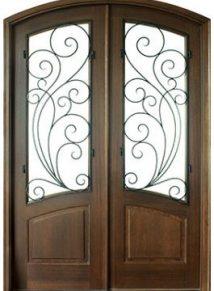 Aberdeen Redwood Double Door