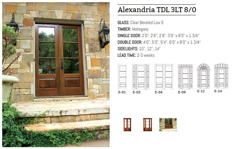 Alexandria TDL 3LT 8/0