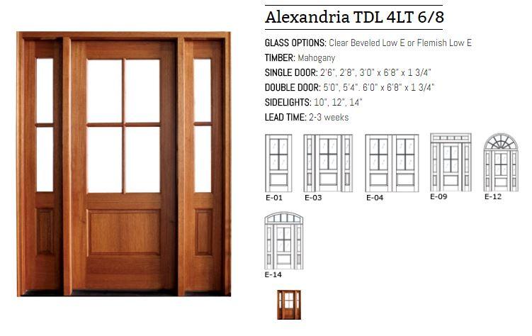 Alexandria TDL 4LT 6-8