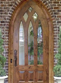 Gothic Church Door