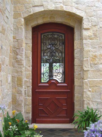Single Door with Iron