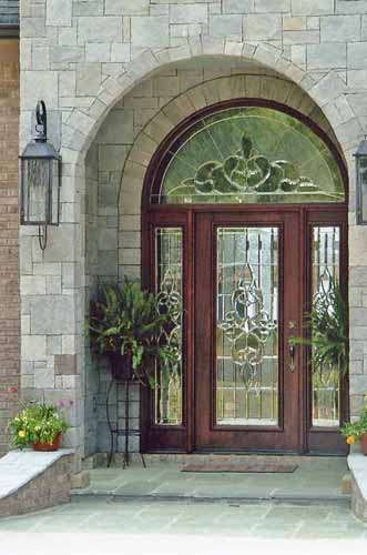 Lg 07 doors by design for Front door with transom above