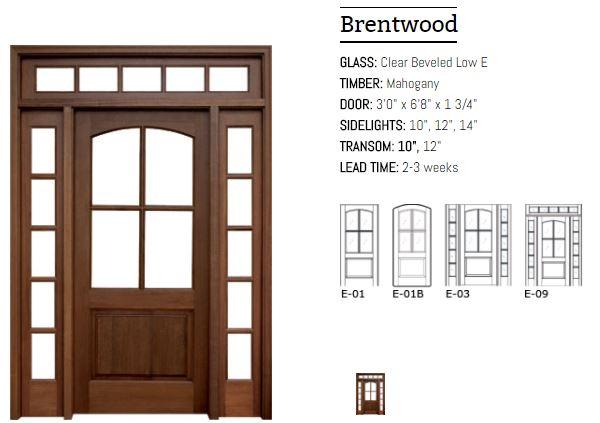 Brentwood Door