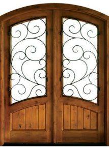 Keowee Burlwood Double Door