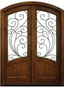Keowee Redwood Double Door