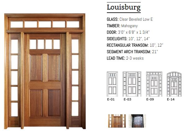 Louisburg Door