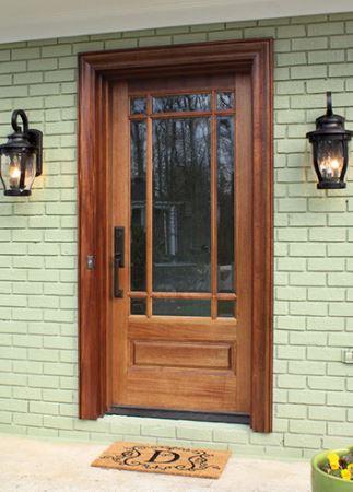 Prairie Style Door