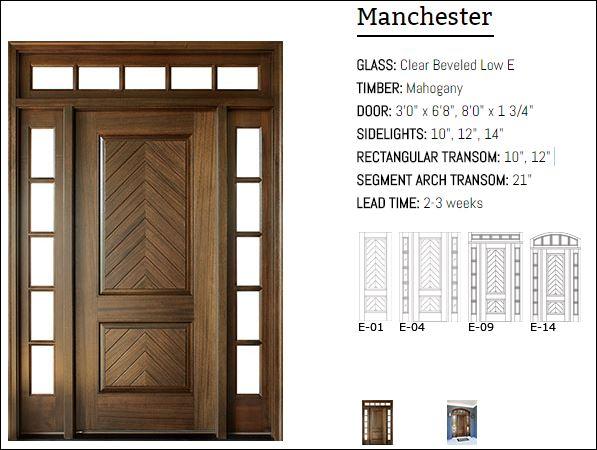 Manchester 68 and 80 Door