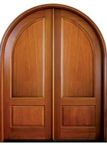 Pinehurst Solid Panel Double Door