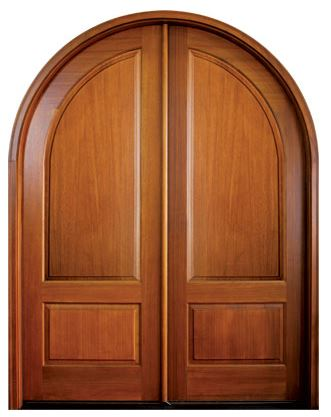 Pinehurst Solid Panel Double Door