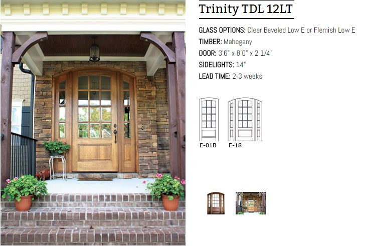 For a quote on this door please fill in the quote request form below.  sc 1 st  Doors by Design & Trinity TDL 12LT - Doors by Design